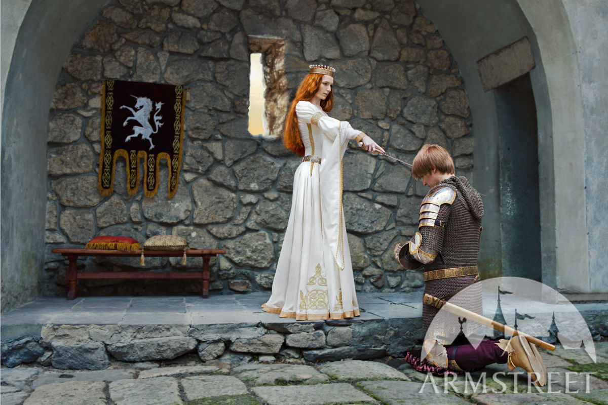 """The Accolade"" Knighting scene by ArmStreet"