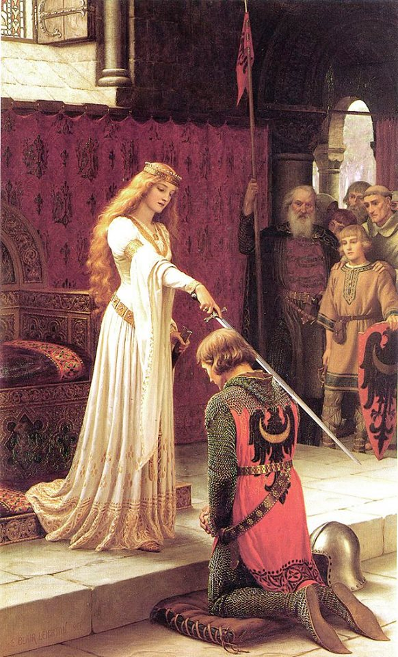 The Accolade by Edmund Leighton (cc)