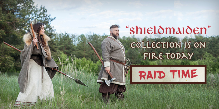 """Shieldmaiden"" collection is on fire today"