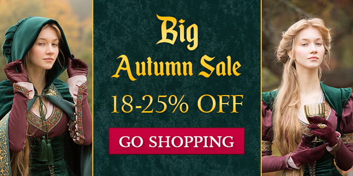 Big Autumn Sale: 18-25% off