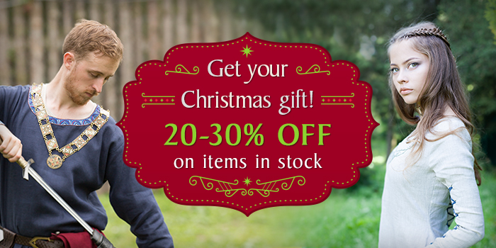 20-30% off on items in stock!