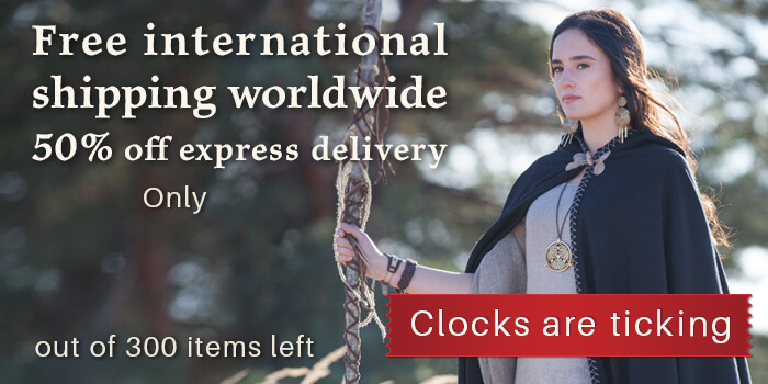 Free international shipping worldwide 50% off express delivery