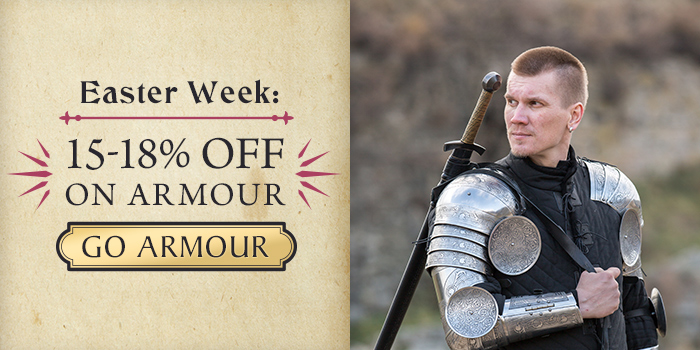 Easter Week deals! 15-18% off on armor!
