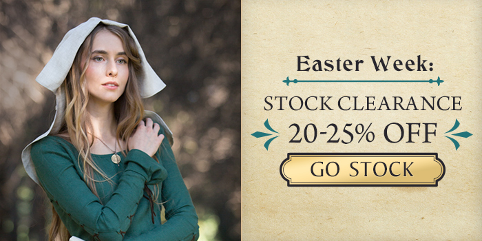 Easter Week deals! 20-25% off on in-stock items!