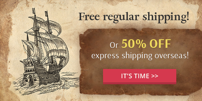 Free shipping time!