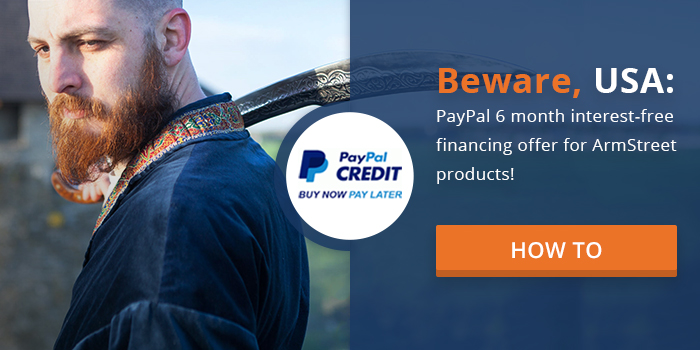 Buy now-pay later with Paypal credit!