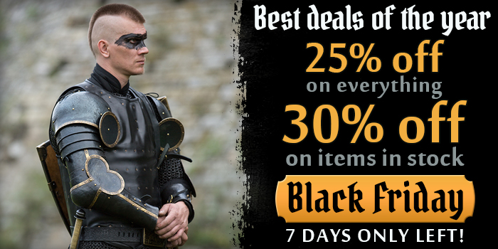 Black Friday! 7 days left!