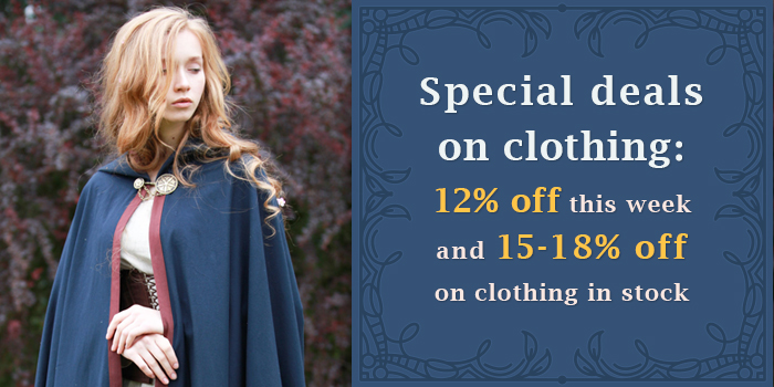 12-18% off on clothing!