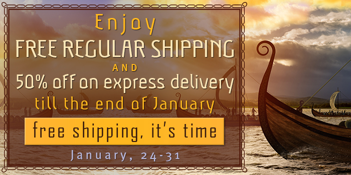 Free shipping on everything! 7 days only!