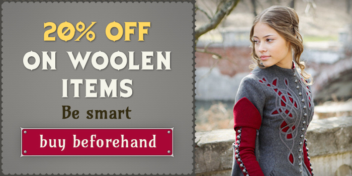 20% off on warm clothes!