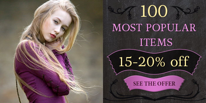 Top 100 popular items on 15-20% sale!