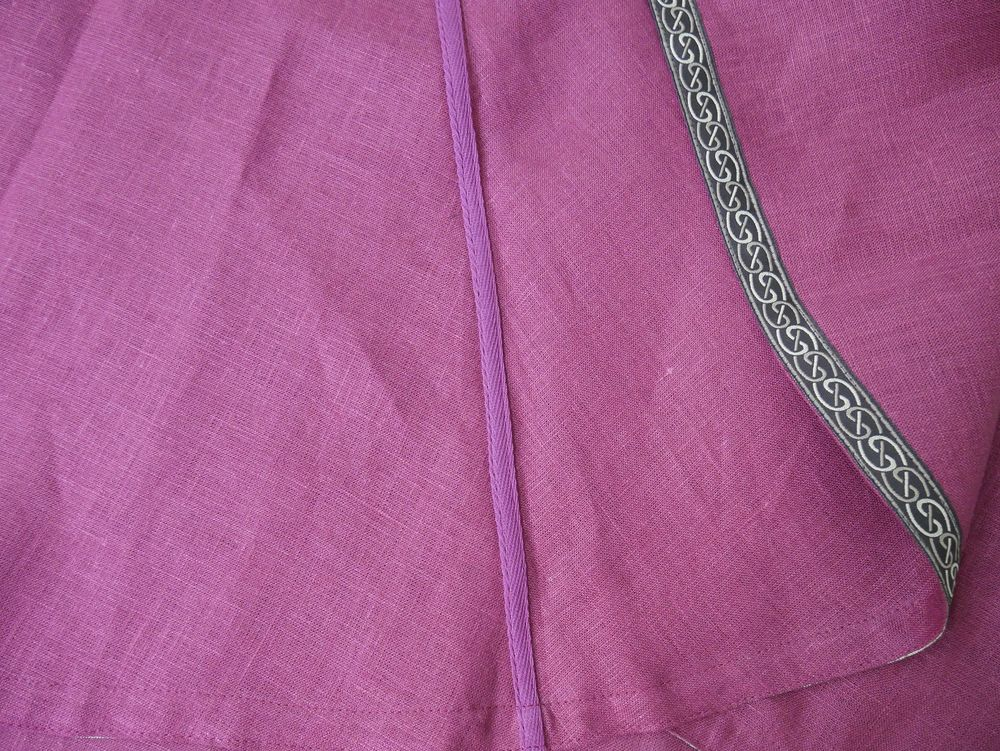Seams on an ArmStreet Viking Tunic