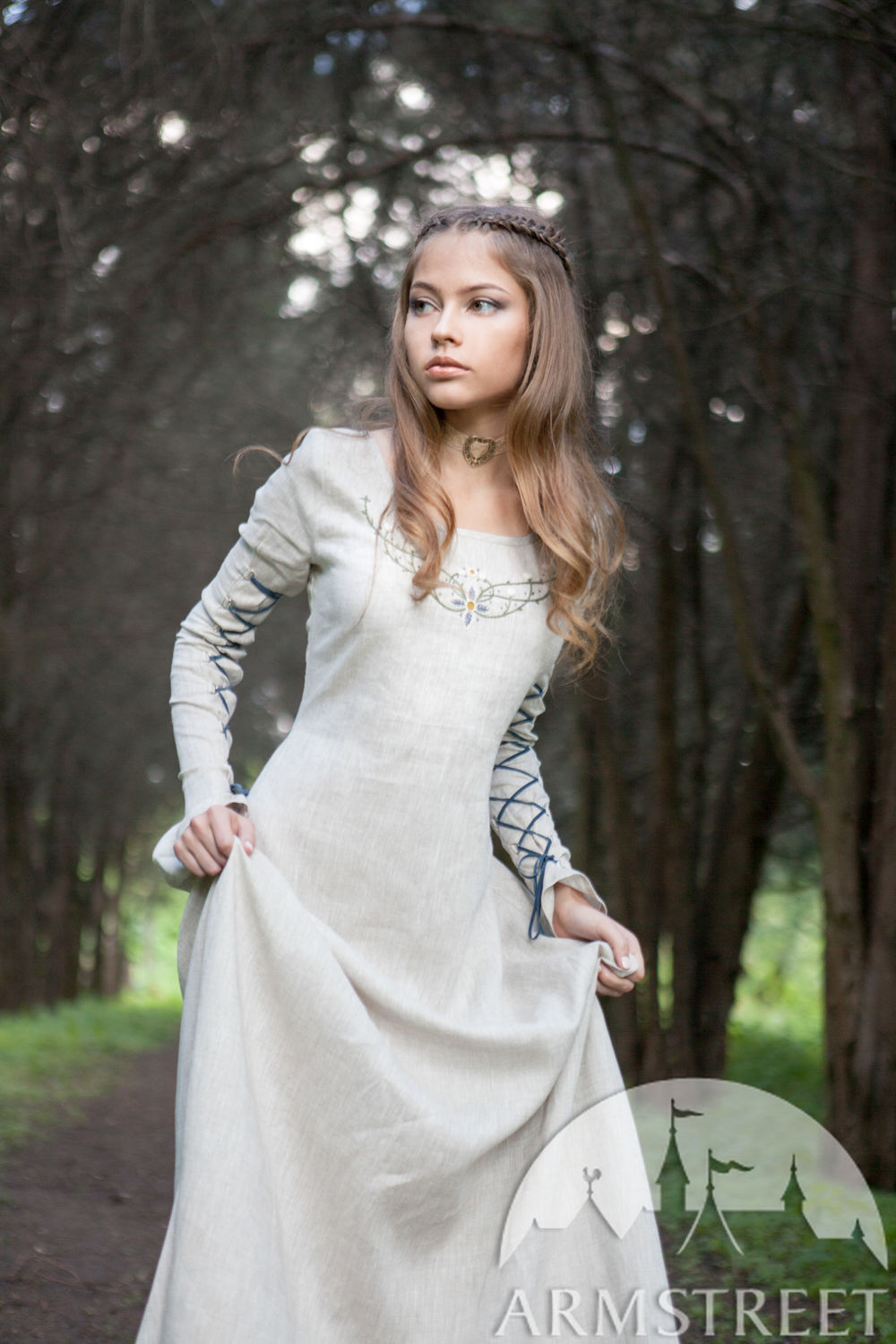 "Linen Dress ""Fairy Tale"""