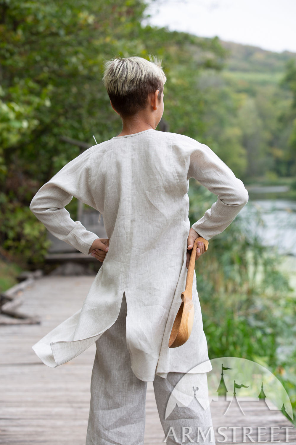 "Children's Linen Short Undertunic ""First Adventure"""