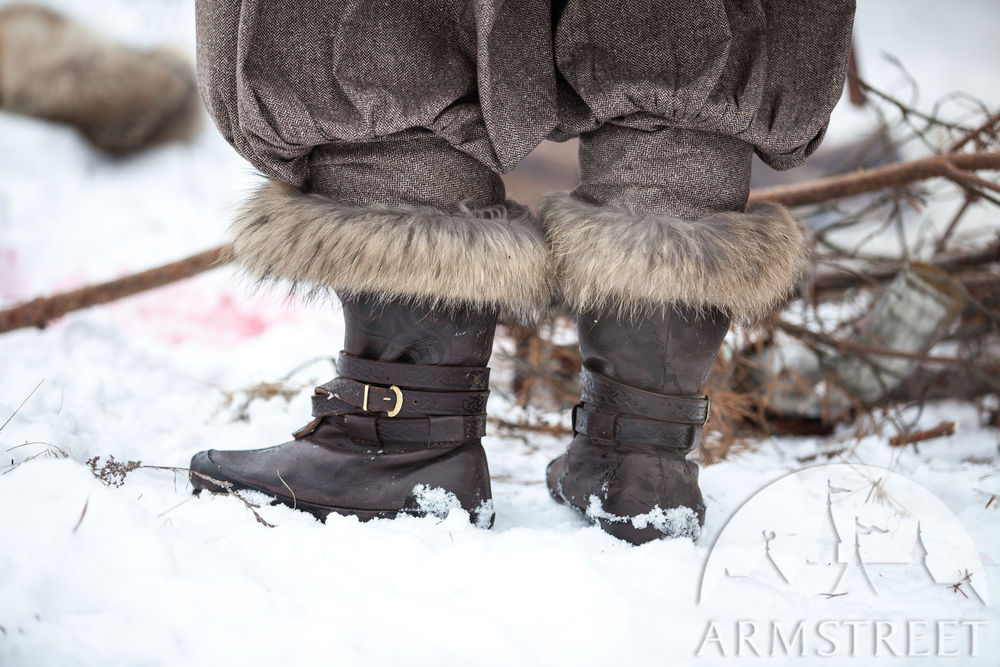 Viking Winter Boots | Yule edition
