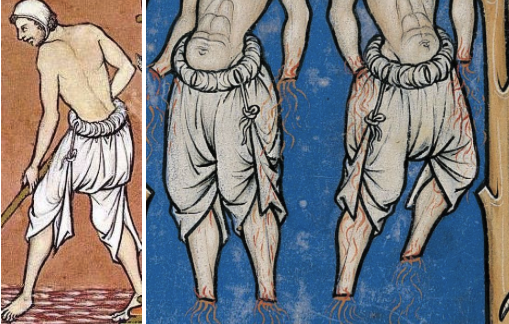 Medieval authentic underpants